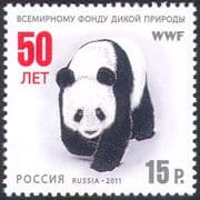 Russia 2011 WWF/ Panda/ Animals/ Nature/ Wildlife/ Conservation 1v (n33671)