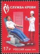 Russia 2015 Blood Donors/ Transfusion Service/ Medical/ Health/ Welfare/ Nurses/ Donation 1v (n43999)
