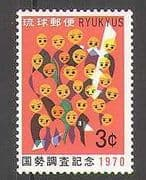 Ryukyus 1970 Population Census  /  Animated 1v (n26825)