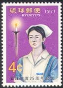 Ryukyus 1971 Nurses' Training Scheme/ Medical/ Health/ Nurse/ Nursing/ Candles/ Flame 1v (n26445)