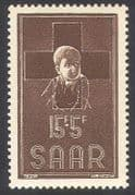 Saar 1954 Red Cross  /  Medical  /  Health  /  Children 1v (n29838)