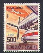 San Marino 1963 Dart Turboprop  /  Planes  /  Aircraft  /  Aviation  /  Transport 1v (n36631)