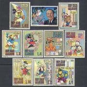 San Marino 1970 Walt Disney/ Mickey/ Cartoons/ Animation 10v set (n24569)