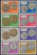 San Marino 1972 Coins  /  Money  /  Currency  /  Commerce  /  Business  /  History 8v set (n38555)
