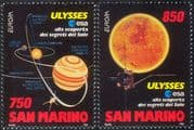 San Marino 1994 Europa/ Discoveries/ Science/ Space/ Sun/Spacecraft/ Astronomy 2v set (n43478)