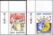 San Marino 2007 Scouts 100th/ Scouting/ Youth/ Leisure/ Animation 2v set (n32547)