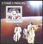 Sao Tome 2003 Space  /  Astronauts  /  Armstrong  /  Aldrin  /  Collins  /  People 1v m  /  s (n36975)