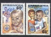Senegal 1979 UNICEF  /  IYC  /  Children  /  Welfare  /  Health  /  Animation  /  Books  /  Doctor 2v n36264