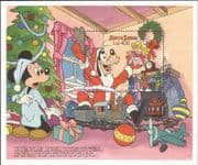 Sierra Leone 1990 Disney/ Christmas/ Mickey/ Goofy/ Train/Plane/ Cartoons/ Animation 1v m/s (b4762m)