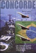 Sierra Leone 2004  Last Flight of Concorde/ Aircraft/ Planes/ Aviation/ Transport  3v m/s (n11210)