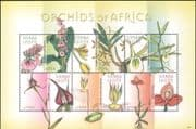 Sierra Leone 2009  Orchids of Africa/ Flowers/ Plants/ Nature/ Orchid  6v m/s (n13288c)