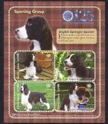 Sierra Leone 2009 Spaniel  /  Dogs  /  Animals  /  Nature  /  Pets  /  Kennel Club 4v m  /  s (n35032)