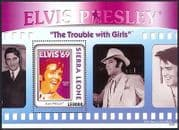 Sierra Leone 2010 Elvis Presley  /  Music  /  Films  /  Cinema  /  People  /  Movies 1v m  /  s (n40884)