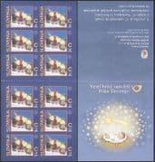 Slovenia 2005 Christmas  /  Candles  /  Greetings  /  Seasonal  /  Animation 12v bklt s  /  a n37609