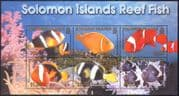 Solomons 2001 Reef Fish/ Marine/ Nature/ Conservation/ Environment  6v m/s (b6391)