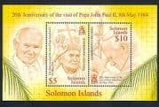 Solomons 2004 Pope John Paul II  /  Visit  /  Religion  /  People 2v m  /  s (n32904)