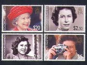 Solomons 2006 Royals  /  Royalty  /  Queen Elizabeth II  /  QEII  /  80th Birthday 4v set n33232