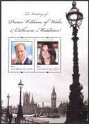 Solomons 2011 Prince William/ Kate/ Royal Wedding/ Royalty/ People 2v m/s (n41099)