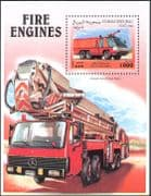Somalia 1999 Fire Engines/ Emergency Service Vehicles/ Rescue/ Motoring/ Transport 1v m/s (n14416)