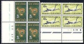 South Africa 1964 Sports  /  Rugby  /  Animal  /  Nature blk n29583
