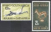 South Africa 1964 Sports  /  Rugby  /  Springbok  /  Animals  /  Nature  /  Games 2v set (n29580)