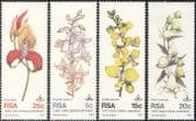 South Africa/RSA 1981 Orchids/ Plants/ Flowers/ Nature/ Orchid 4v set (n43284)