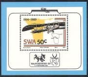 South West Africa 1989 Aircraft  /  Aviation 1v f  /  s n17928