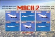 St Kitts 2007 Concorde/ Aircraft/ Planes/ Aviation/ Transport 6v m/s (n11220f)