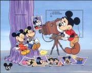 St Vincent 1994 Disney/ Mickey 65th/ Camera/ Photography/ Cartoons/ Animation 1v m/s (b1480q)