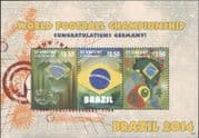 St Vincent 2014 Football World Cup Championships/ WC/ Soccer/ Sports/ Games 3v m/s (b2060a)