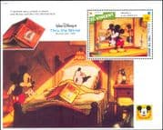 St. Vincent 1992 Disney/ Mickey/ Films/ Cinema/ Cartoons/ Books/ Alice 1v m/s (n12021)