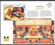 St. Vincent 1992 Disney/ Mickey/ Piano/ Music/ Films/ Cinema/ Orphan's Benefit  1v m/s (n12020)