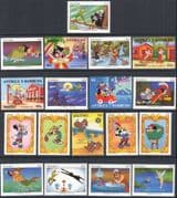 Superb New 2019 Disney Selection/ Stocking Filler/ Cartoons/ Animation 20v (d00190)