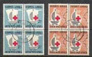 SWA 1963 Red Cross 100yrs 2v set blks vfu (n21098)