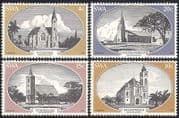 SWA  /  South West Africa 1978 Churches  /  Church  /  Buildings  /  Architecture 4v set sw10106