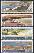 SWA  /  South West Africa 1980 Dams  /  Water  /  Irrigation  /  Hydro-electricity 4v (sw10102)