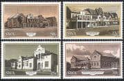 SWA  /  South West Africa 1985 Windhoek  /  Railway Station  /  Buildings 4v set (sw10104)
