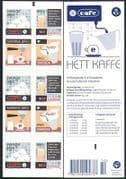 Sweden 2006 Coffee  /  Food  /  Drink  /  Cafe  /  Machinery  /  Leisure  /  Animation 10v bklt (n34604)