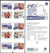 Sweden 2007 Fishing  /  Angling  /  Sports  /  Leisure  /  Nature  /  Fish 10v bklt (n34297)