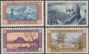 Switzerland 1929 Pro Juventute/ Welfare Fund/ Lakes/ Mountains/ Cattle/ Cows/ Nature 4v set (n45453)