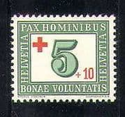 Switzerland 1945 Red Cross  /  Medical  /  Health/ Welfare/ Surcharge 1v (n27760)