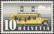Switzerland 1946 (reprint as 1937)  Travelling Post Office/ Bus/ Coach/ Transport/ Motoring 1v (n45330)