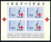 Switzerland 1963 Red Cross  /  Medical  /  Health m  /  s (n27983)