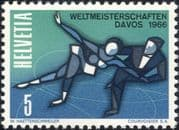 Switzerland 1965 Figure Skating/ Ice Dancing/ Championships/ Sports/ Games/ Animation 1v (ch1036)