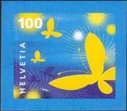 Switzerland 2005 Greetings Stamp/ Butterflies/ Insects/ Animation/ Butterfly 1v s/a (n46076)