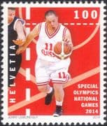 Switzerland 2014 Disabled Basketball/ Special Olympics/ Sport/ National Games 1v (ch1017)