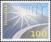 Switzerland 2014 Renewable Energy/  Power/ Environment/ Electricity/ Dam/ Sun/ Solar 1v (ch1055)