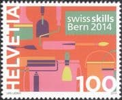 Switzerland 2014 Swiss Skills/ Painters/ Plasterers/ Workers/ Work/ Jobs 1v (ch1056)