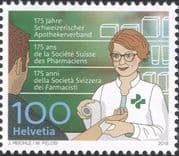 Switzerland 2018 Pharmacist/ Pharmacy/ Health/ Medical/ Welfare/ Nurse/ Nursing 1v (ch1052)