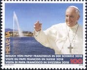 Switzerland 2018 Pope Francis/ Papal Visit/ Religion/ People 1v (ch1061)